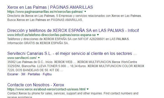 renting-impresora-las-palmas-xerox