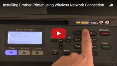 instalar una impresora Brother WiFi