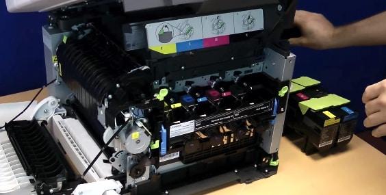 reparar fotocopiadora