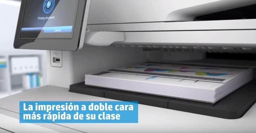 impresora multifunción HP M477fdw