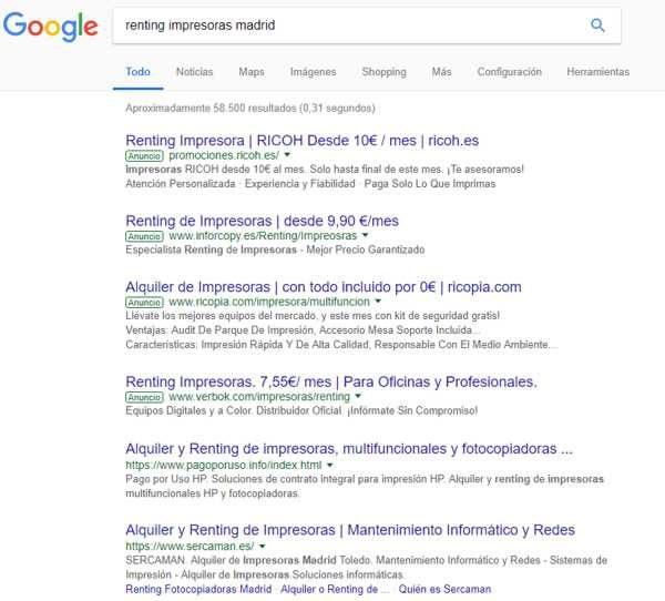 google-renting-impresoras-madrid