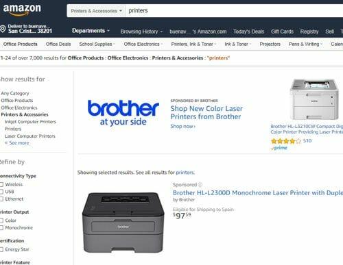 comprar-impresoras-amazon