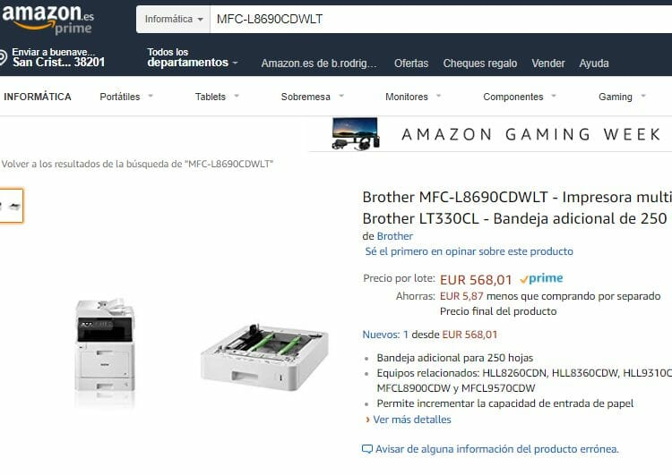 impresora-laser-color-multifuncion-Brother-Amazon