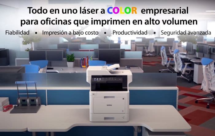 renting impresora-laser-color-brother